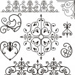 Stock Vector: Set of 8 exquisitive and very cleornamental designs.