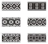 A set of Mexican ornamental designs. — Stock Vector