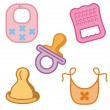Royalty-Free Stock Imagen vectorial: Baby icons series.