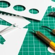 Cutting mat — Stock Photo