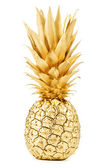 Gold pineapple — Stock Photo