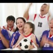Animation of diverse families having fun — Stock Video #23037332