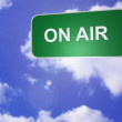 Signpost announcing On Air — Видео