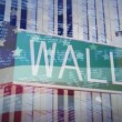 Wall Street Sign — Stock Video #23639905