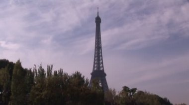 The Eiffel Tower — Stock Video