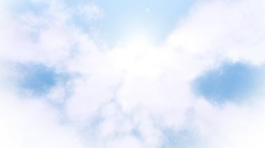 Cloud Fly Through — Stock Video