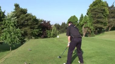 High Definition Stock Golf Footage — Stock Video