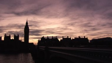 Big Ben in London - Time-Lapse — Stock Video