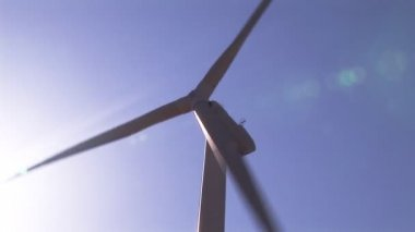 Wind-Turbine Electricity Generating — Video Stock