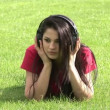 Stock Video - Woman Listening to Music — Stock Video #23642207