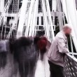 Commuters moving fast — Stock Video #23645077