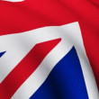 Stock Video: Flag of Great Britain