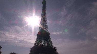 Landmark of Paris — Stock Video