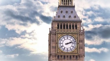 Big Ben Composite — Stock Video