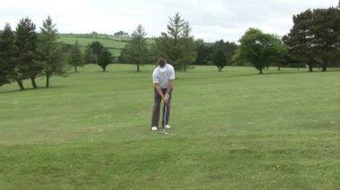Golf chip shot — Wideo stockowe