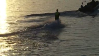 Stock Footage - Water Skiing — Stockvideo