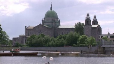 Galway Cathedral in Ireland — Stock Video