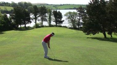 Golf Shot — Stock Video