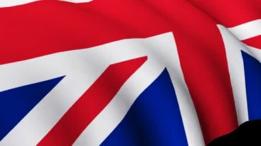 Flag of Great Britain — Stock Video