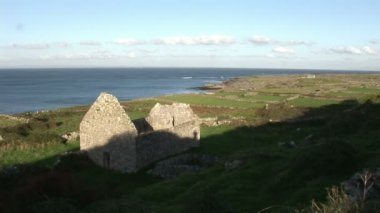 Stock Footage of Aran Islands in Ireland — Wideo stockowe