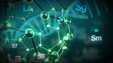 3d Science Animation — Stock Video