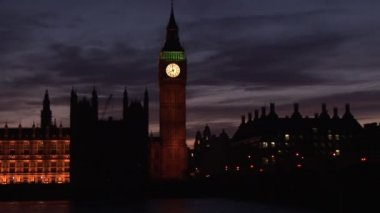 Big Ben and West Minster — Stock Video