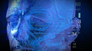 цифровой человек — Стоковое видео