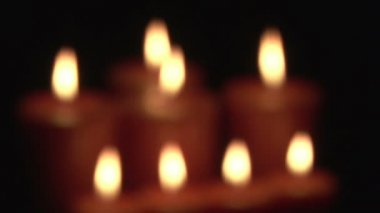 Stock Footage of a lighting Candle — Stock Video