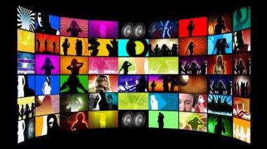 Disco Dancing — Stock Video