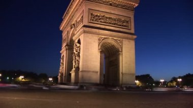 French Landmark — Stock Video