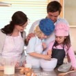 Children cooking — Stock Video