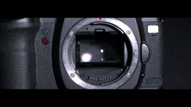 Black camera — Stock Video