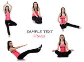 Fitness collection — Stock Photo