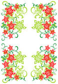 Flowers background — Stock Vector