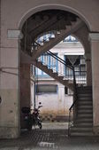 Stairs in the arch — Stock Photo