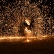 Fire Show - Stock Photo
