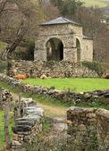 Asturias Chapel Besullo — Stock Photo