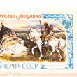������, ������: Postage stamp Russian fairy tales