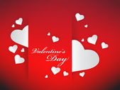 Valentine hjärtan — Stockvektor