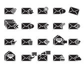 E-mail icons vektor — Stockvektor
