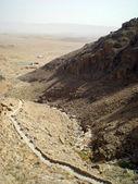 Monastery of Deir Mar Musa al-Habashi Nebek, Syria. . — Stock Photo