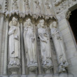 Saints of Notre Dame de Paris — Stock Photo