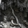 Quattro Fontane - Four Fountains in the Trevi District of Rome, Italy — ストック写真