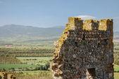 Fragment of Castle of Acquadda. Sardinia. Italy — Stock Photo