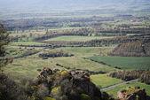 View from Castle of Acquadda. Sardinia. Italy — Stock Photo