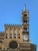 Cathedral Maria Santissima Assuanta of Palermo in Sicily — Stock Photo