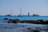 Güzel denizi villasimius sardunya, i̇talya — Stok fotoğraf