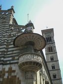 Prato (Tuscany, Italy) - Cathedral, the external pulpit by Donatello — Stock Photo