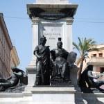 Постер, плакат: Monument to Camillo Benso di Cavour in Piazza Cavour Rome Italy