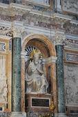 Basilica Santa Maria maggiore - Rome - inside — 图库照片